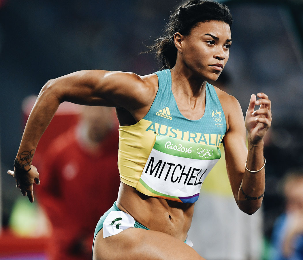 Morgan Mitchell, 2016 Rio Olympics