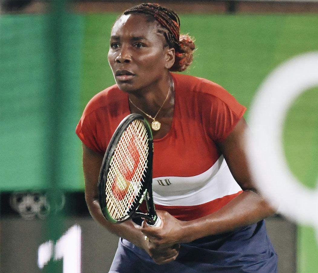 Venus Williams, 2000 Australia, 2008 Beijing, 2012 London, and 2016 Rio Olympics