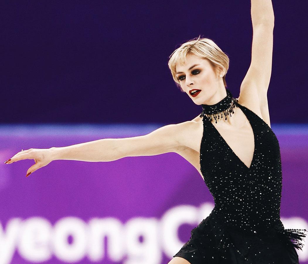 Larkyn Austman, 2018 PyeongChang Olympics