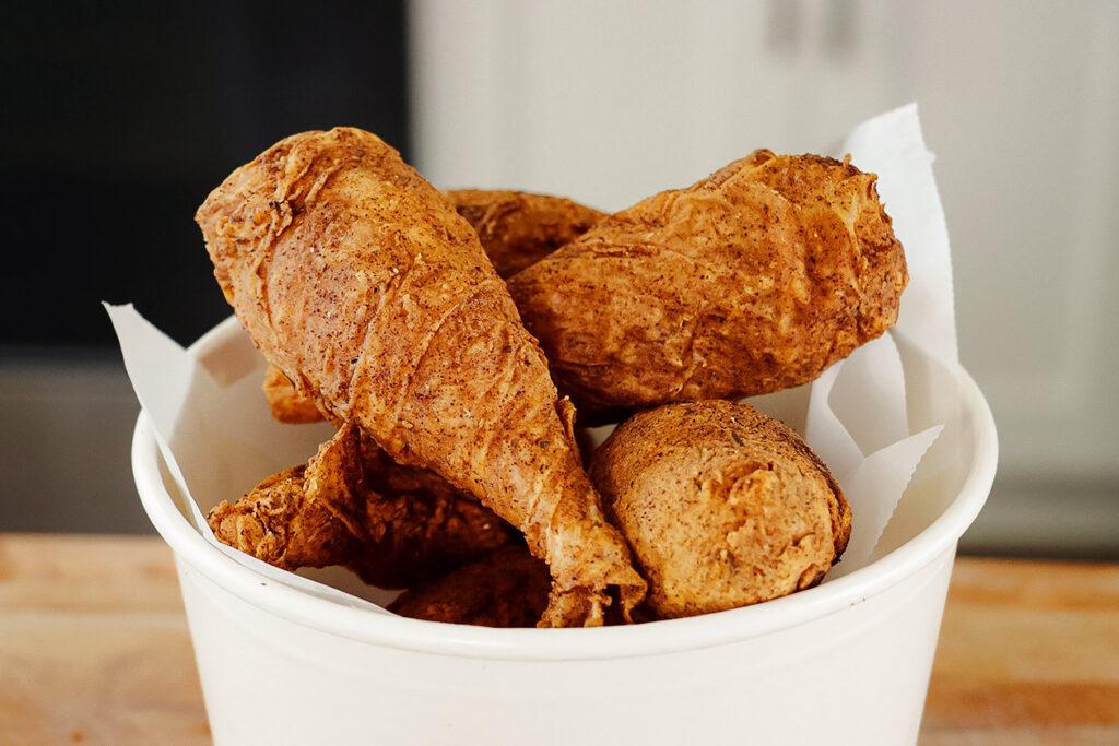 vegan fried chicken drumsticks