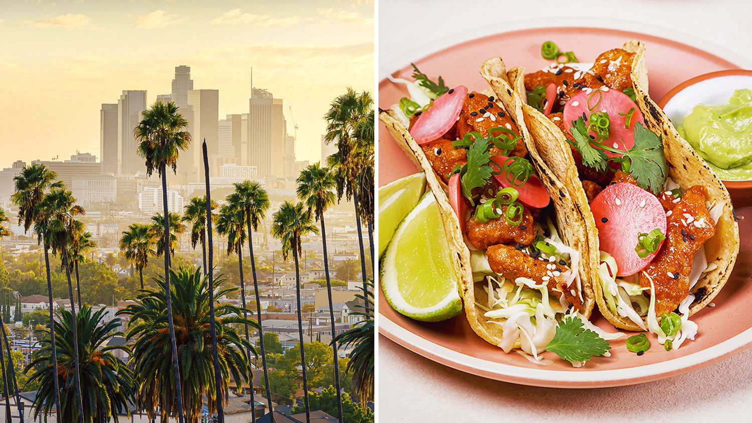 The Los Angeles Korean Fried Chicken Taco is a classic