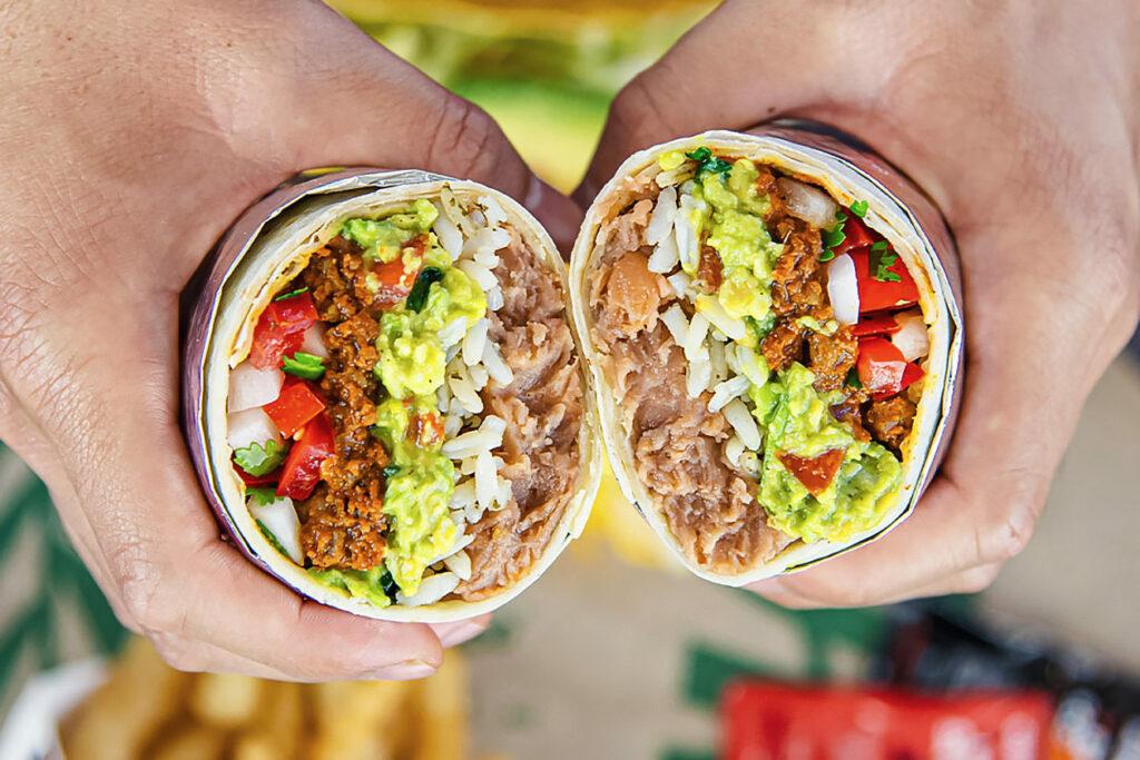 Del Taco vegan options