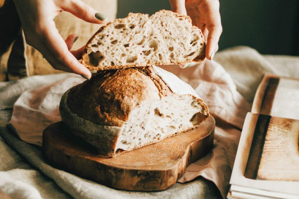 Sourdough bread is a fermented food