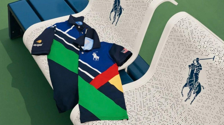 Ralph Lauren US open uniforms on a Polo Raph Lauren seat