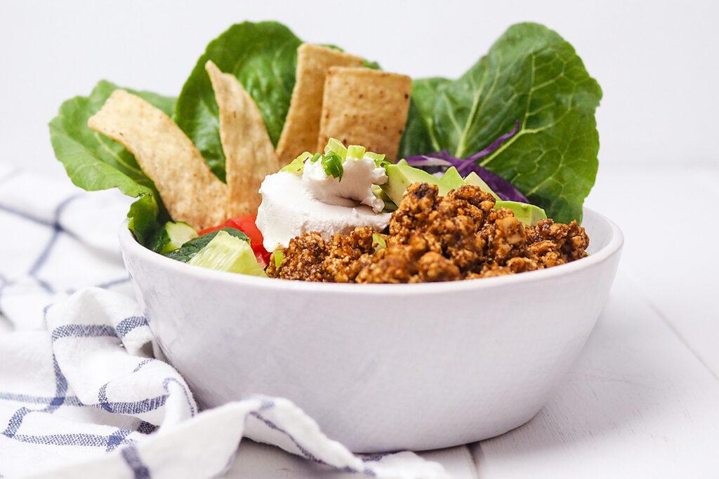 sofritas taco bowl
