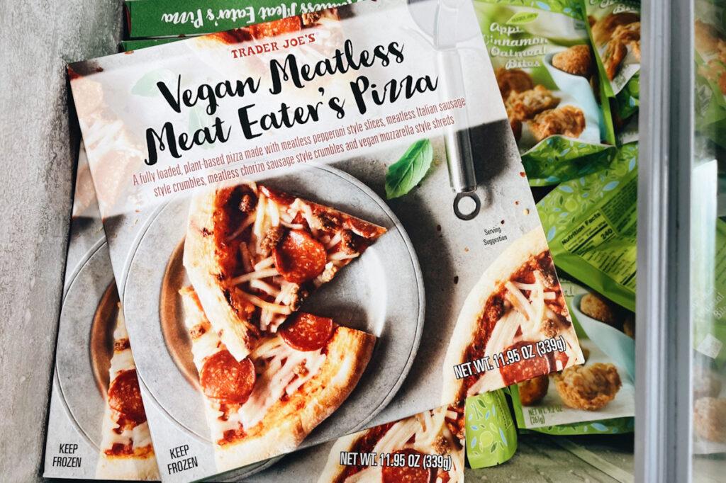 Trader Joe's vegan pizza