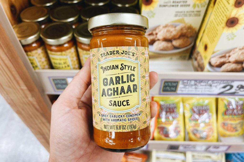 garlic achaar sauce