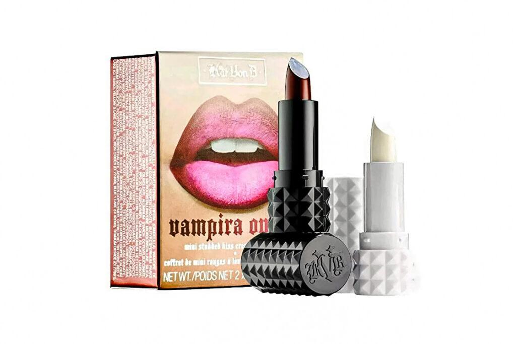 Photo of Kat Von D's Vampira Ombre Lips product.