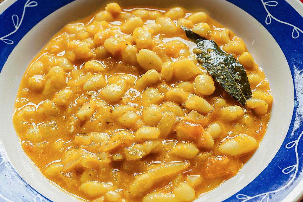 saffron beans