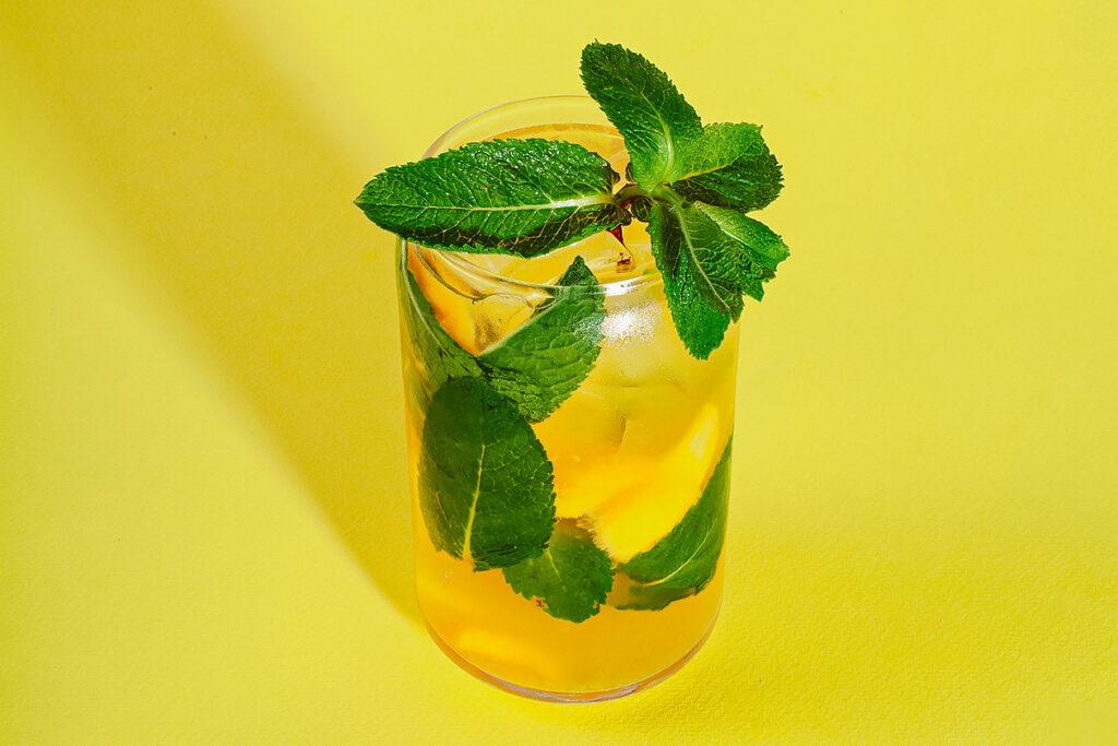 saffron in cocktail