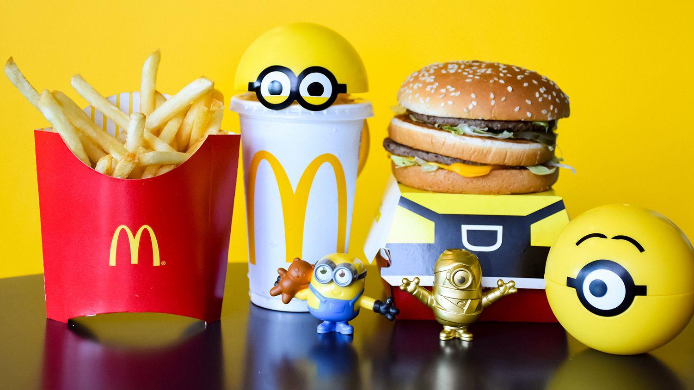 McDonald's plastic Happy Meal toys