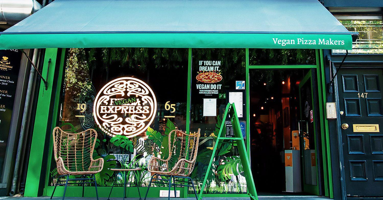 Vegan PizzaExpress in London