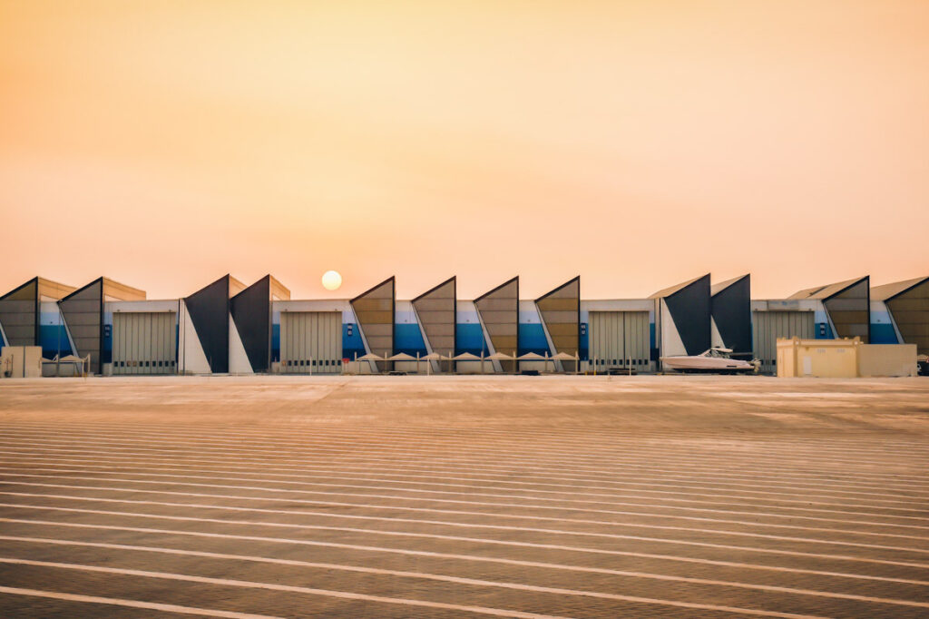 Photo shows Qatar, the home of Eat Just's latest cultured meat plant.