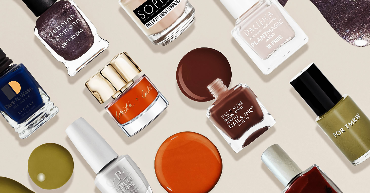 Fall 2021 Nail Trends: Shades of Green, Metallic, and Eggplant