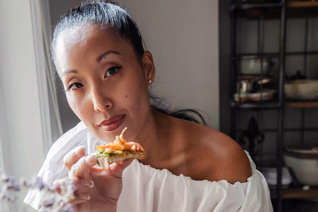 Joanne Lee Molinaro of The Korean Vegan