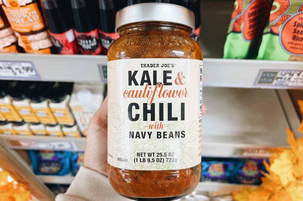 Trader Joe's kale chili