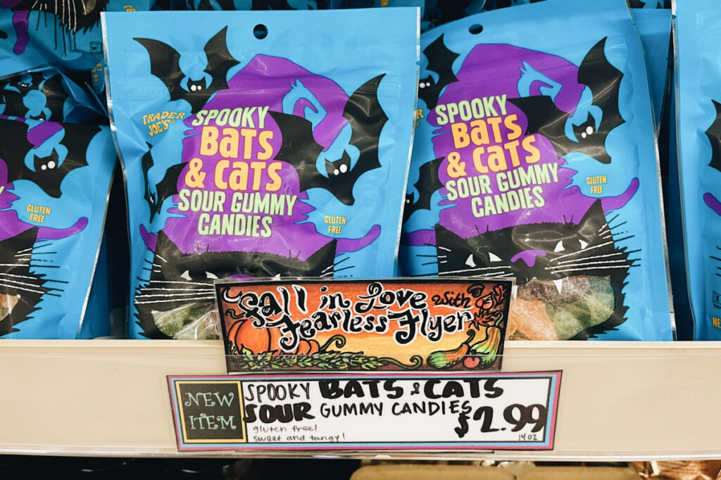Trader Joe's halloween candy