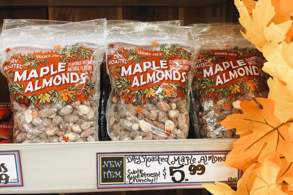 Trader Joe's maple almonds