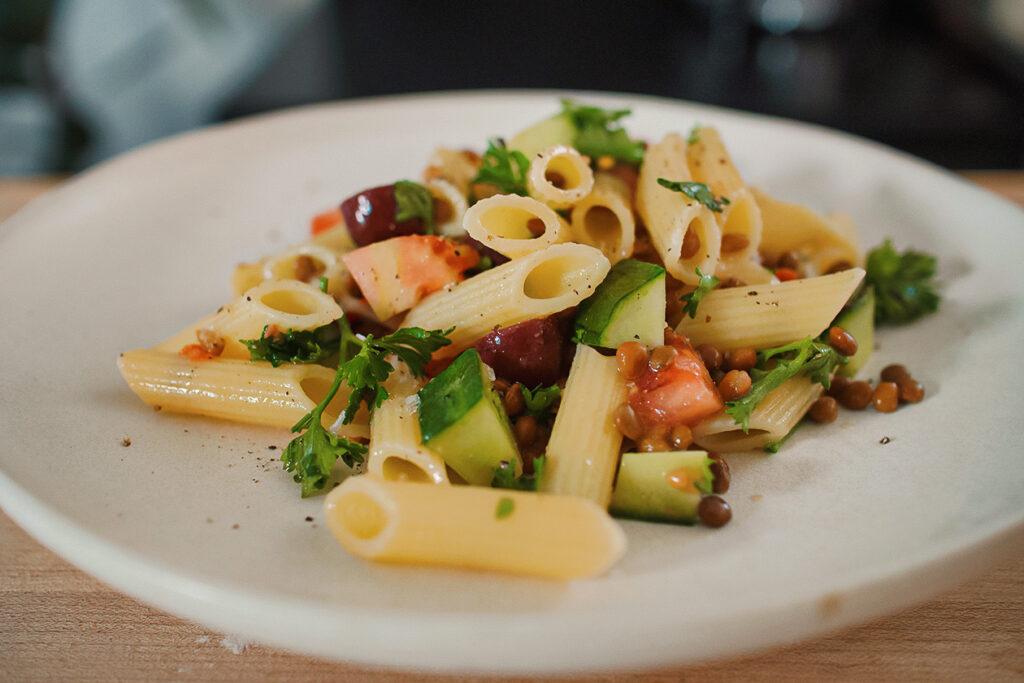 vegan low FODMAP recipes lentil salad